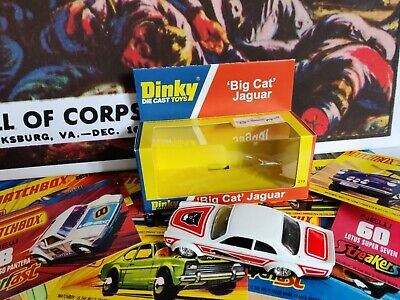 £19.99 • Buy Dinky Jaguar Big Cat 219 Code 3 Display Box The Very Best. Limited Edition