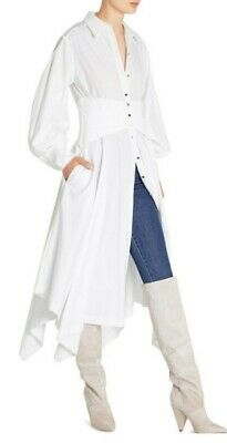 AU99 • Buy Sass And Bide Music To My Eyes Button Shirt Dress White