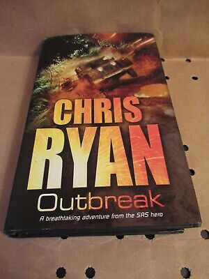£1 • Buy Outbreak By Chris Ryan (Hardback, 2007) Second Printing Signed By The Author