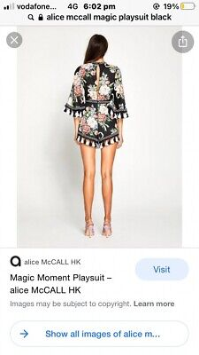 AU99 • Buy Alice Mccall Magic Moment Playsuit Size 10