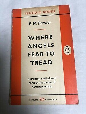 £0.49 • Buy E M Forster WHERE ANGELS FEAR TO TREAD Vintage Penguin 1959