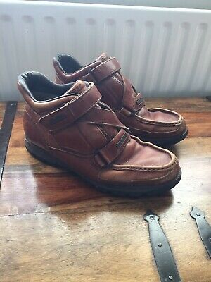 £18.50 • Buy Rockport XCS Mens Brown Leather Boots,size 10,used.