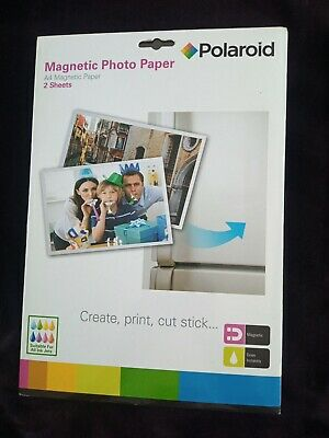 £2 • Buy Polaroid A4 Magnetic Photo Paper 2 Sheets