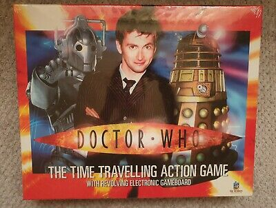 £13.99 • Buy DOCTOR WHO The Time Travelling Action Board Game