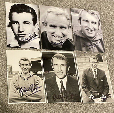 £2.99 • Buy Alan Dicks Hand Signed 6x4 Photo Chelsea Bristol City Fulham Coventry Manager US