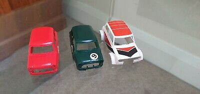 £0.99 • Buy Scalextric Mini Body Shells X3 Used Condition
