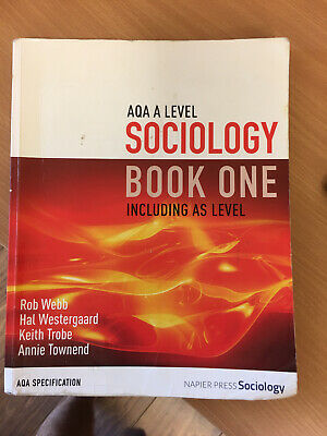 £9.50 • Buy AQA A Level Sociology Book One Including As Level