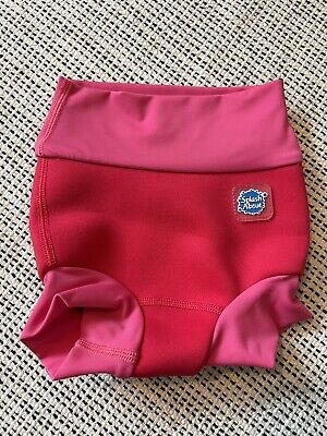 £0.99 • Buy Splash About Happy Nappy Small 0-3 Months Pink Excellent Condition