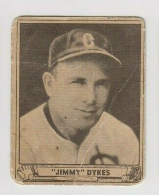 £7.21 • Buy 1940 Play Ball JAMES JIMMY DYKES Chicago White Sox ORIOLES Set Card #187