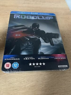 £7 • Buy Robocop (2014) Limited Edition Steelbook - Blu-ray (New & Sealed)