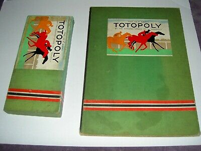 £58 • Buy 1st Edition Totopoly 1938 Complete Boxed Vintage Horse Racing Game Lead Horses J