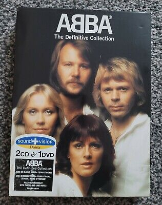 £0.99 • Buy Abba - Definitive Collection Sound & Vision Deluxe Edt (2 CD + DVD) Journey Gold