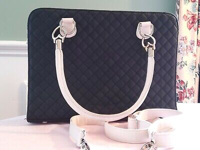 AU20 • Buy Forever New Tote Womens Handbag Large Zip Up Two Toned Bag