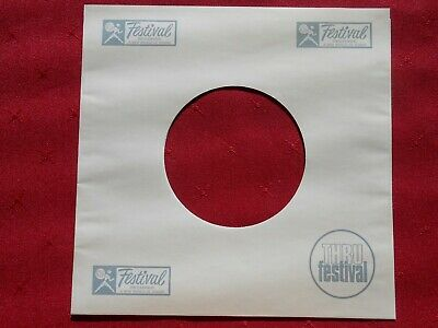 AU3 • Buy FESTIVAL Reproduction 7  Record Sleeve. Brand New