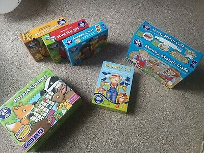 £5.40 • Buy Preschool Orchard Toys Games Bundle Immaculate Complete
