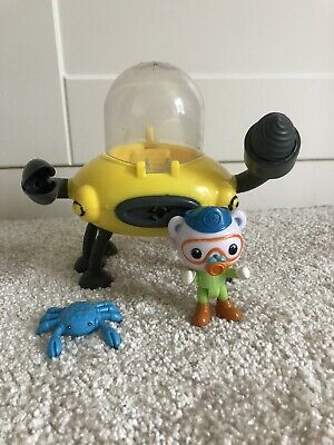 £8.90 • Buy Octonauts Gup D Crab Mode Claw And Drill Toy With Crab & Barnacles Figure