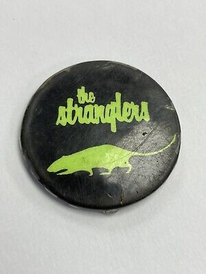 £3.50 • Buy Original Vintage Punk Badge 1970's The Stranglers In Well Worn Condition