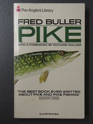 £23.49 • Buy PIKE, Fred Buller, Classic Vintage Angling Book