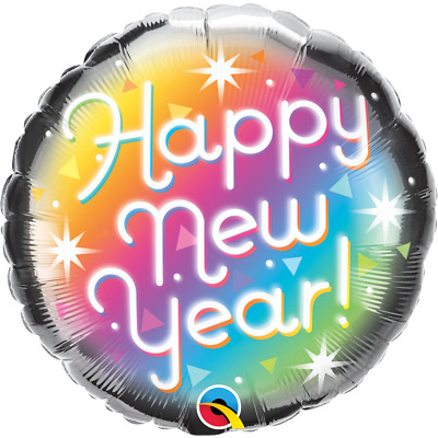 £2.95 • Buy Happy New Year 18  Foil Balloon New Years Eve Party Decorations