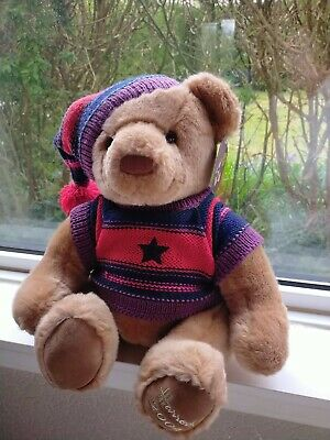 £12.99 • Buy Harrods 2004 Collectible Christmas Teddy Bear Height 14  Aprox