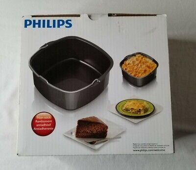 AU35.94 • Buy Philips Viva Collection Air Fryer Baking Pan No Stick Kitchen Cookware New