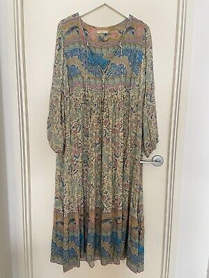 AU400 • Buy Spell And The Gypsy Collective Oasis Boho Dress Opal Size XL