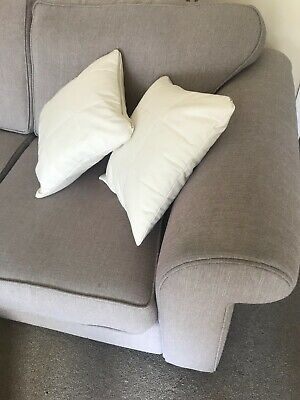 £3.99 • Buy Cream, Padded IKEA Cushion Covers X2. Never Used (covers Only).