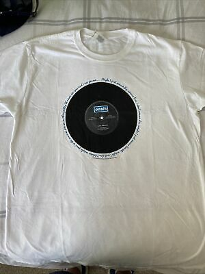 £5.50 • Buy Oasis Official Live Forever Noel Liam Gallagher Band T-Shirt - XL