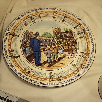 £4 • Buy Wade Ceramics For Ringtons Collectors Plate STREET GAMES