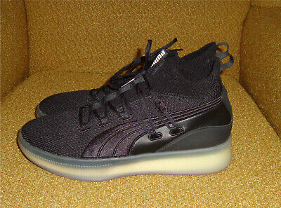 AU26.64 • Buy Puma Clyde Court Black Electric Purple Mens Basketball Sneakers / Shoes