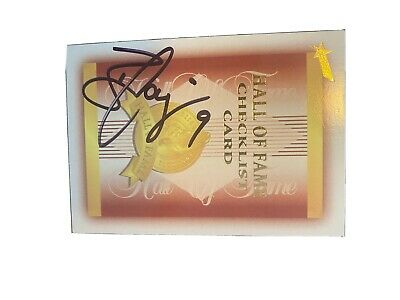 AU0.99 • Buy WEST COAST EAGLES - BEN COUSINS SIGNED Hall Of Fame CARD Full Auto