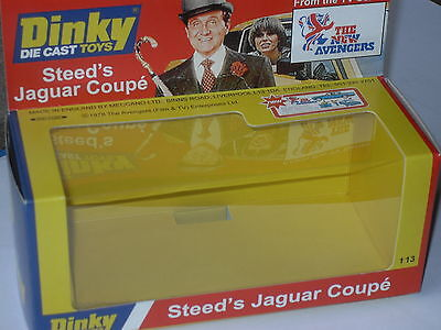 £32.99 • Buy Dinky Steeds Jaguar 113  The New Avengers Code 3 Display Box. Limited Edition