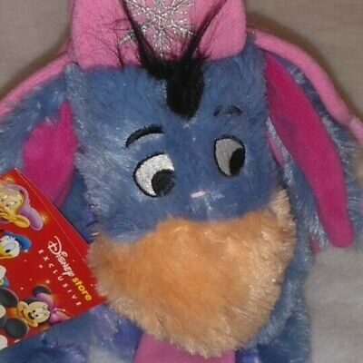 £15.99 • Buy Eeyore Disney Stamped, Teddy,plush,toy Wearing A Hat And Scarf Set