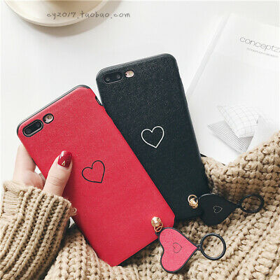 AU5.13 • Buy Love Soft Phone Case With Ring For IPhone6s 7 8plus Protective Cover For Couples