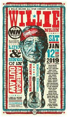$15.94 • Buy Willie Nelson - POSTER - Country Legend LIVE CONCERT - WALL ART PRINT