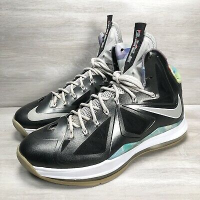 $79.99 • Buy Nike Lebron 10 Prism Basketball Sneakers Shoes Men's Size 10