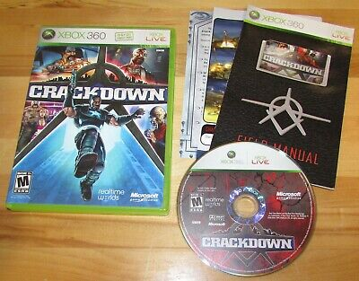 AU7.94 • Buy  Crackdown For Xbox 360 Complete Fast Shipping!