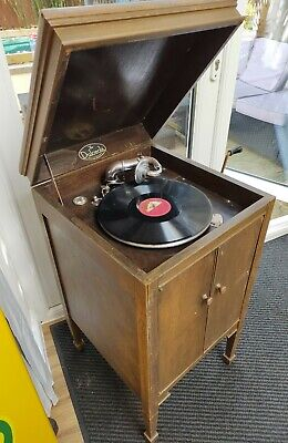 £1.20 • Buy Vintage Wind Up Gramophone - Music Box Sound Record Player Working (WATCH VIDEO)