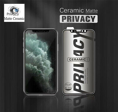 AU9.95 • Buy Privacy Matte Ceramic Screen Protector For IPhone 12/13/11 PRO/11/X/XR/XS Max