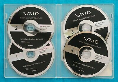 £21.75 • Buy Sony Vaio Window 7 Recovery Media DVD Disc For VGN-SR500G Series ( 64 Bit )
