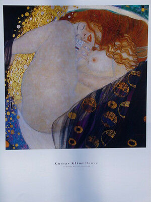 $ CDN30.70 • Buy Gustav Klimt•DANAE 1907•16x20 Art Print•Vienna Secession Movement Poster