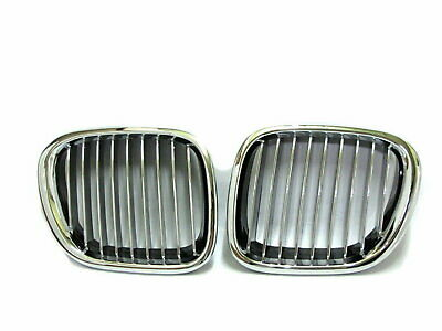 $44.99 • Buy Z-Series Z3 E36 1996-2002 Coupe/Roadster 2D GRILLE/GRILL Chrome/Black For BMW