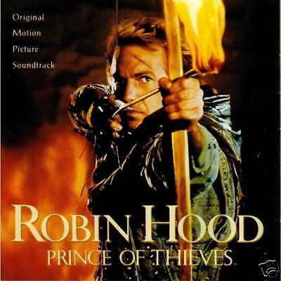 Robin Hood - Prince Of Thieves- 1991 Original Movie Soundtrack CD • 10.97£