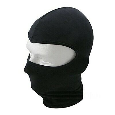 £9.99 • Buy Motorcycle Black Balaclava Excellent Quality Cotton