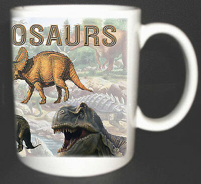 I Love Dinosaurs Coffee Mug Personalised Foc. T-rex Etc • 9.49£
