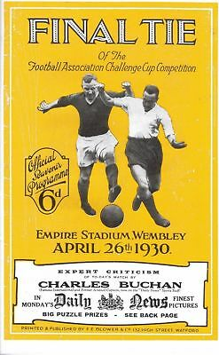 £9.99 • Buy * 1930 FA CUP FINAL PROGRAMME - ARSENAL V HUDDERSFIELD TOWN *