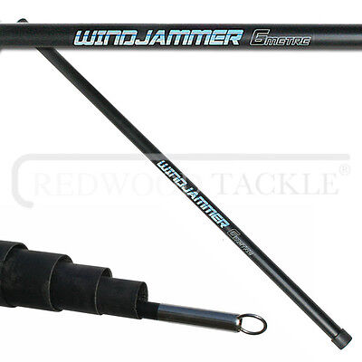 NEW  Wind Jammer 7m Telescopic Fibreglass Pole For Windsocks/Flags • 20.95£