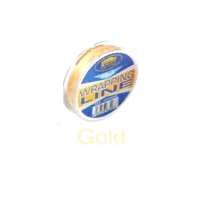 Fishing Rod / Ring / Eyes Whipping Thread 25 M Gold / Yellow • 5.36£