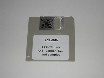 $6.95 • Buy Ensoniq EPS-16 Plus OS 1.30 Boot Disk - Operating System Disk-includes 5 Samples