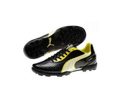 Puma V 5.11 TT Soccer Shoes 2011 Turf   Indoor Brand New Black   Yellow • c654f9bd6